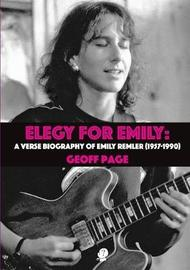 Elegy for Emily by Geoff Page