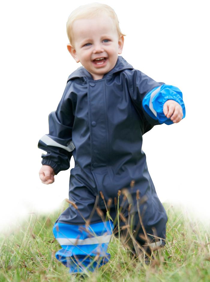 Mum 2 Mum: Waterproof All in One - Royal Blue (18-24 Months) image
