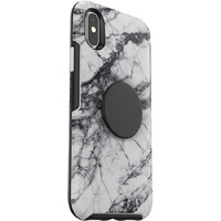 Otter + Pop: Symmetry for iPhone X/Xs - White Marble