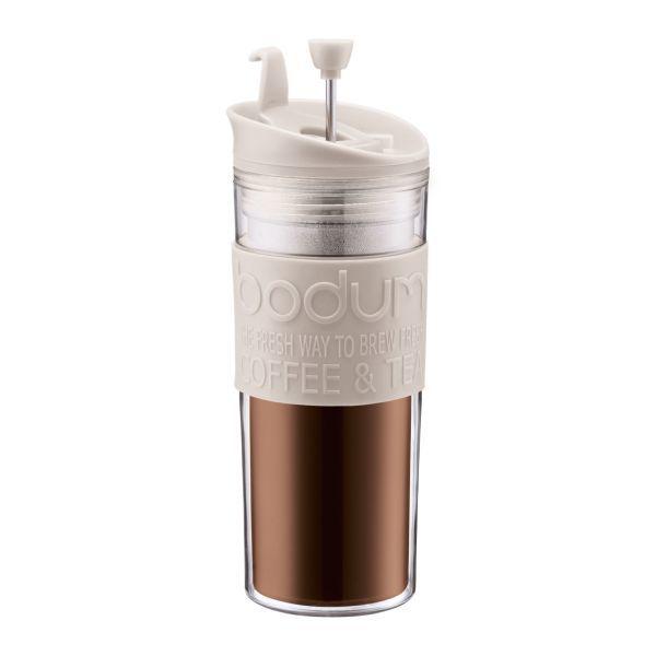 Bodum: Travel Press Coffee Maker (350ml) - White image