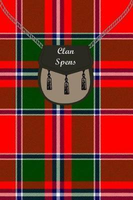 Clan Spens Tartan Journal/Notebook by Clan Spens