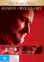 Red Carpet Heroes - Robin Williams (Good Will Hunting / The Night Listener) (2 Disc Set) on DVD