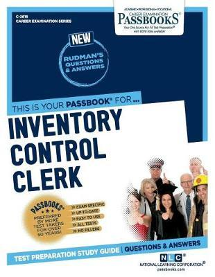 Inventory Control Clerk by National Learning Corporation image