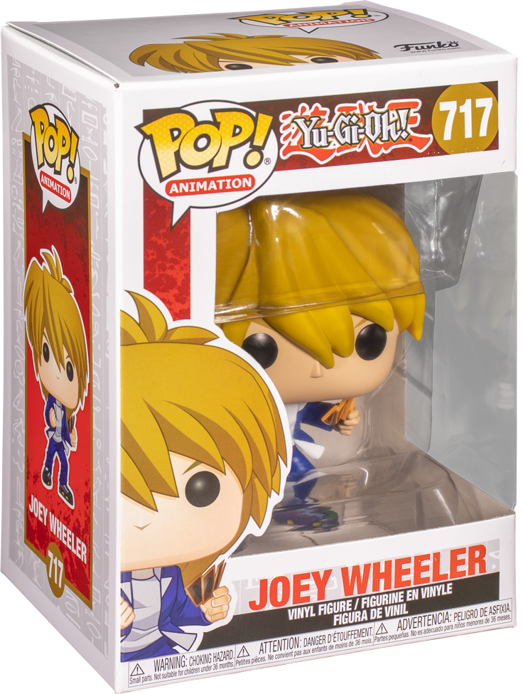 Yu-Gi-Oh! - Joey Wheeler Pop! Vinyl Figure image