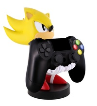 Cable Guy Controller Holder - Super Sonic for PS5, PS4, Xbox Series X, Xbox One
