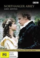 Northanger Abbey on DVD