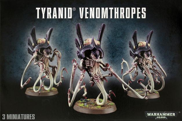 Warhammer 40,000 Tyranid Venomthropes/Zoanthropes