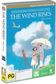 The Wind Rises on DVD