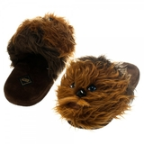 Star Wars Chewbacca Plush Slippers (Medium)