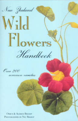 NZ Wild Flowers Handbook by Owen Bishop image