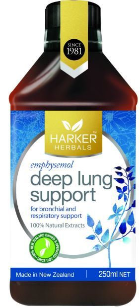 Harker Herbals Deep Lung Support (250ml)
