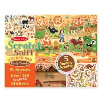 Melissa & Doug: Scratch and Sniff - Tempting Treats