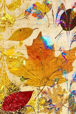 An Autumn Leaf Collage Art Journal by Cs Creations