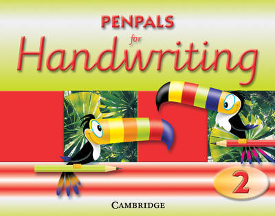 Penpals for Handwriting Year 2 Practice Book by Gill Budgell image