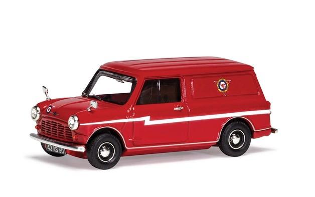 Corgi 1/43 Mini Van: Red Arrows Diecast Model
