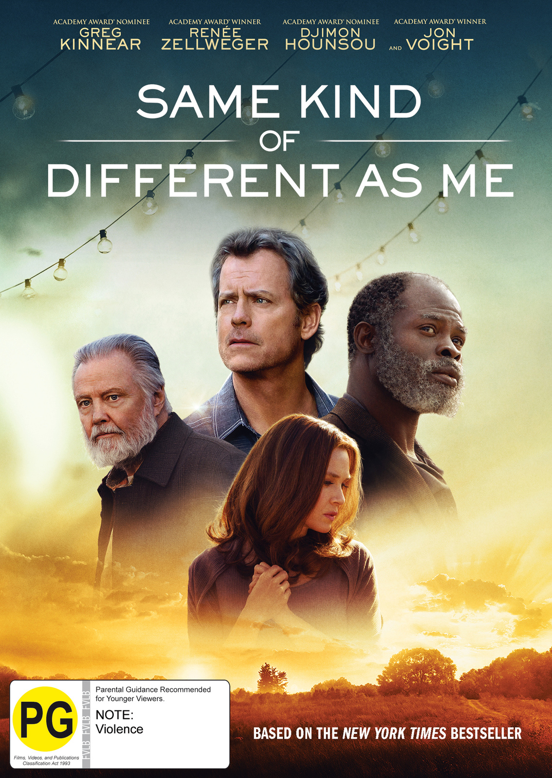 Same Kind of Different as Me on DVD image