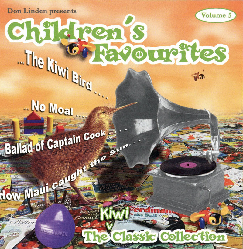 Children's Favourites Volume 5: The Kiwi Classic Collection by Don Linden image