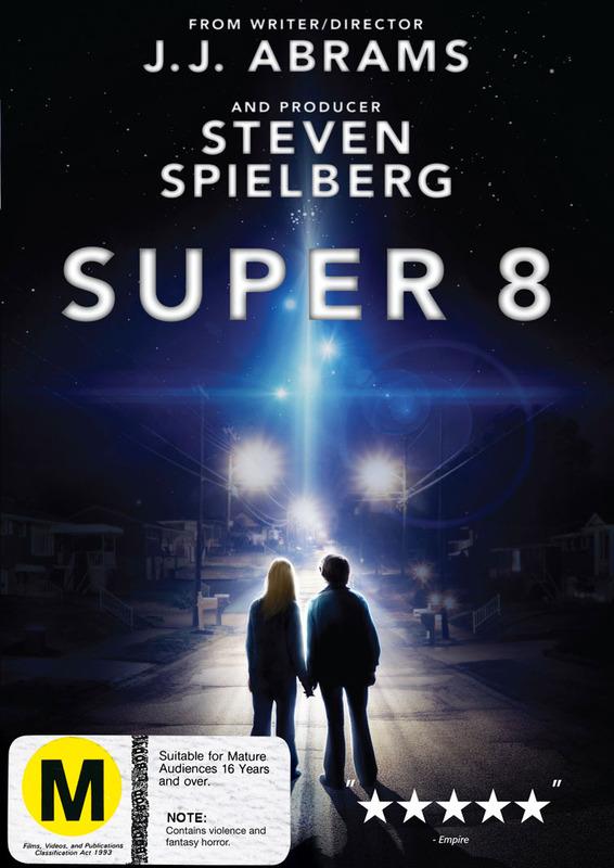 Super 8 on DVD