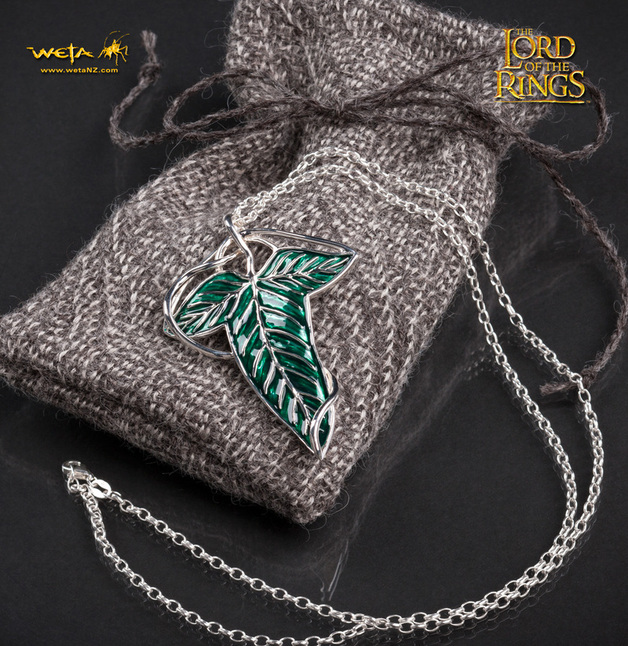 Lord of the Rings: Elven Leaf Brooch / Pendant by Weta