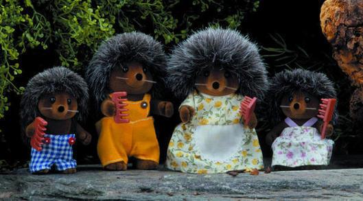 Sylvanian Families: Hedgehog Family image