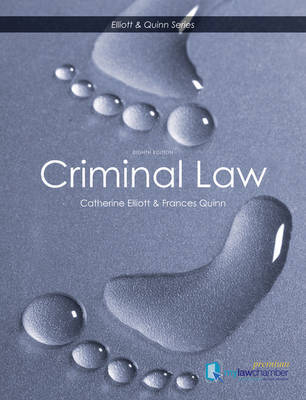Criminal Law by Catherine Elliott image