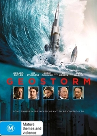 Geostorm on DVD image