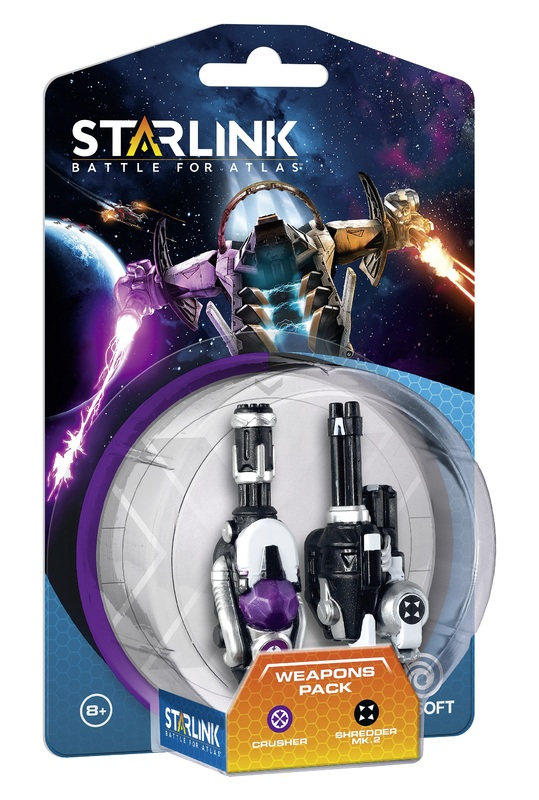 Starlink Weapon Pack - Crusher/Shredder for