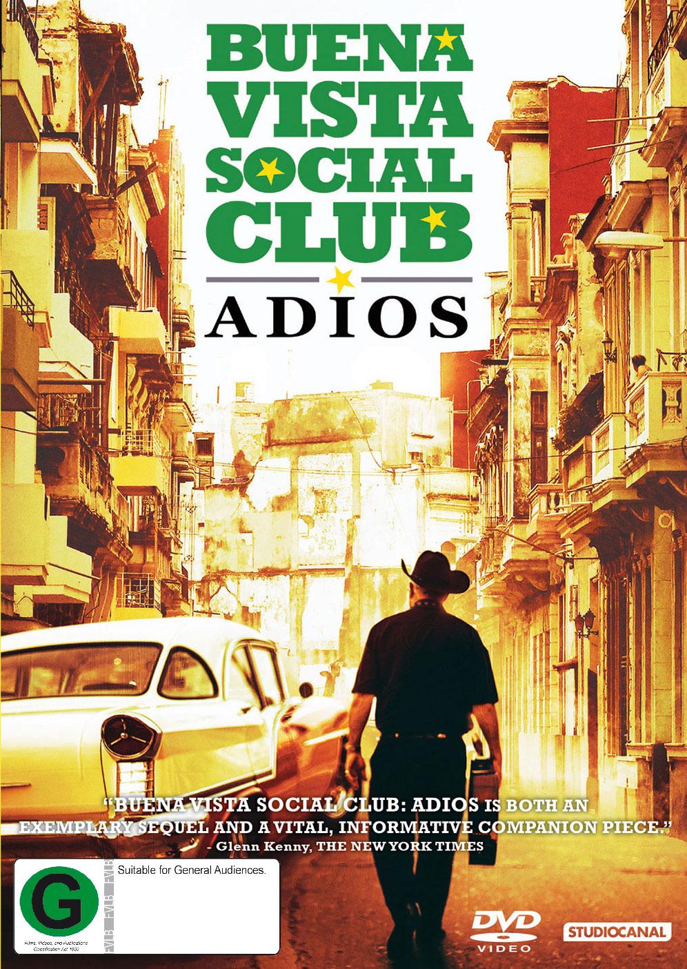 Buena Vista Social Club: Adios on DVD image