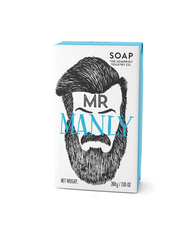 Somerset Toiletry Co: Bearded Mens Soap - Mr Manly