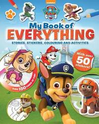 Nickelodeon PAW Patrol My Book of Everything by Parragon Books Ltd image