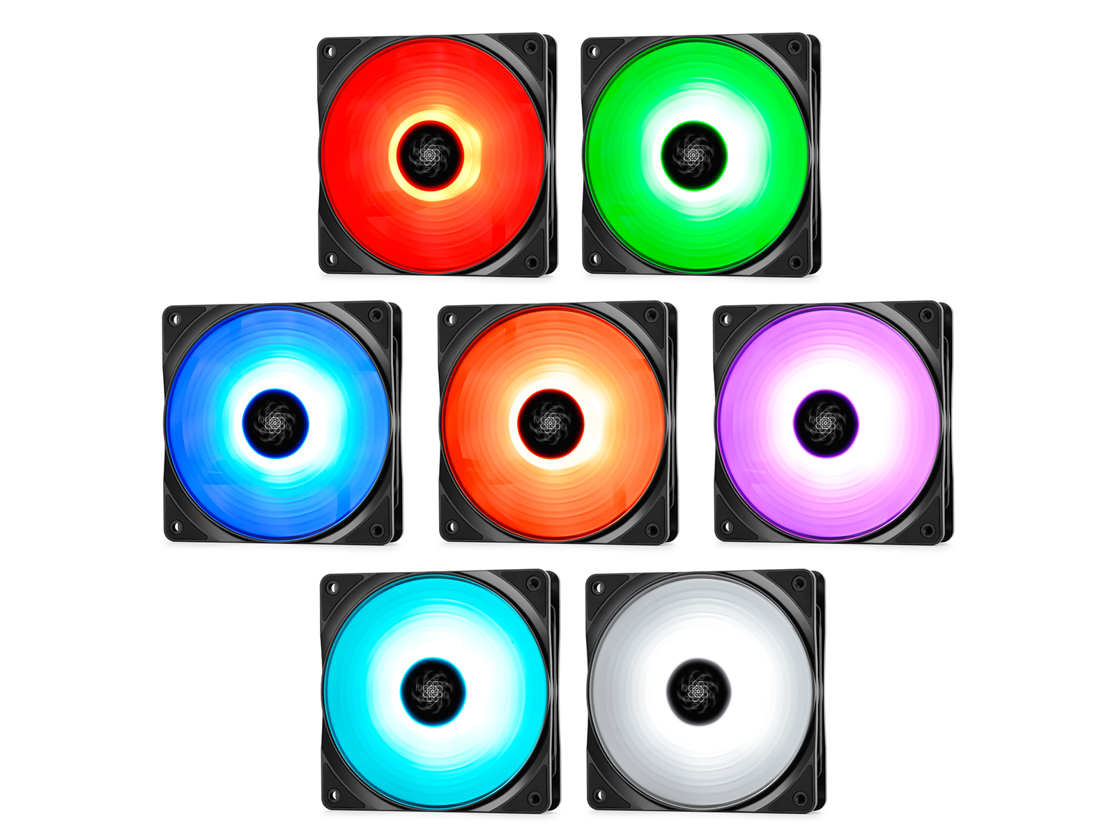 Deepcool: RF120 3-in-1 Customisable RGB LED Fans - 120mm (3-Pack) image