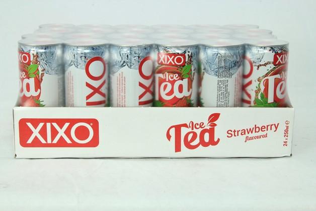 XIXO Ice Tea Strawberry 250ml 24pk