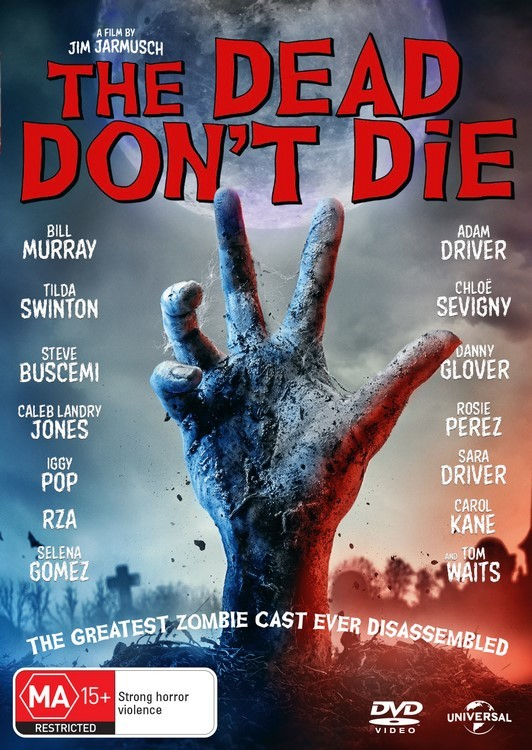 The Dead Don't Die on DVD