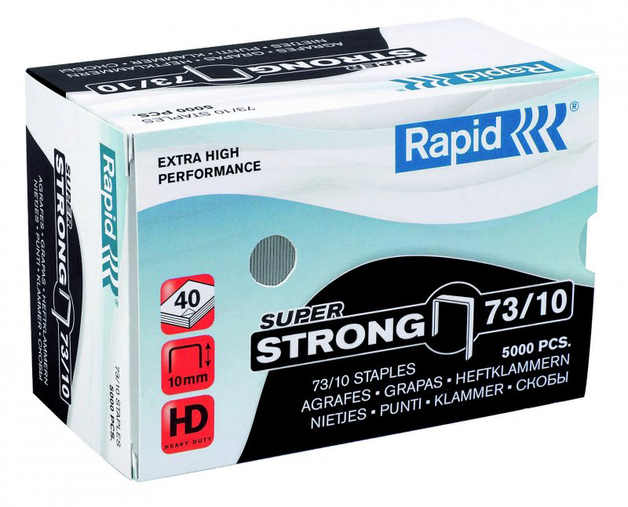 Rapid 73/10 Staples 5000pcs