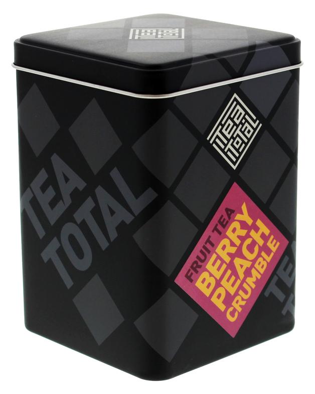 Tea Total - Berry Peach Crumble Tea (100g Tin)