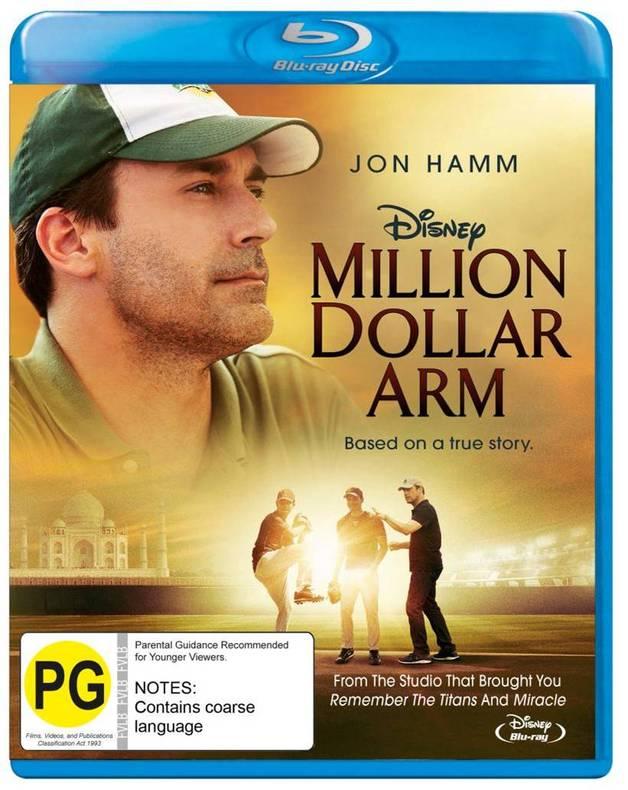 Million Dollar Arm on Blu-ray