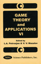 Game Theory and Applications: v. 6 by Leon Petrosjan image