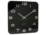 Karlsson Vintage Square Wall Clock - Black