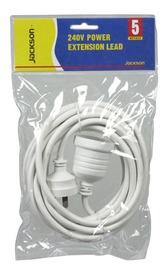 Jackson Standard Power Extension Cord (5M)