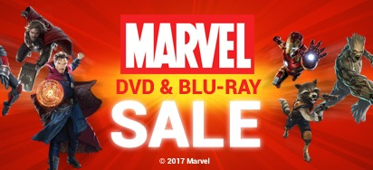 Marvel DVD & Blu-ray Specials for August!