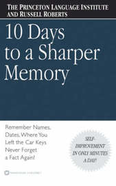 Ten Days to a Sharper Memory by Princeton Language Institute image