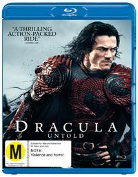 Dracula Untold on Blu-ray