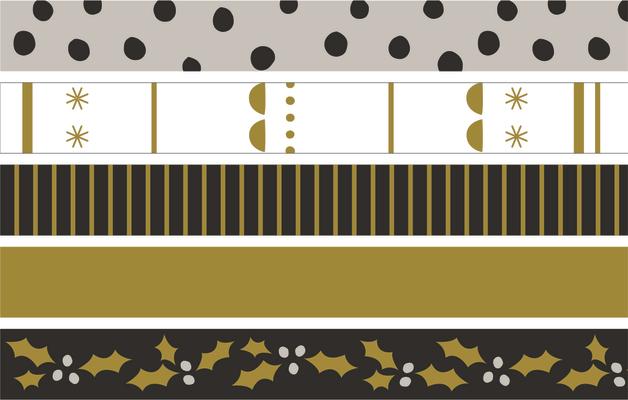 Kaisercraft: Printed Tape - First Noel