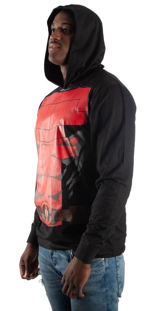 Deadpool Suit-Up - Lightweight Hoodie image