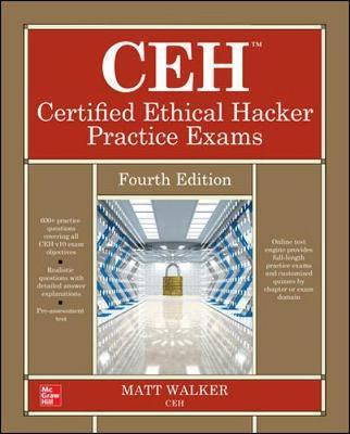 CEH Certified Ethical Hacker Practice Exams, Fourth Edition by Matt Walker image