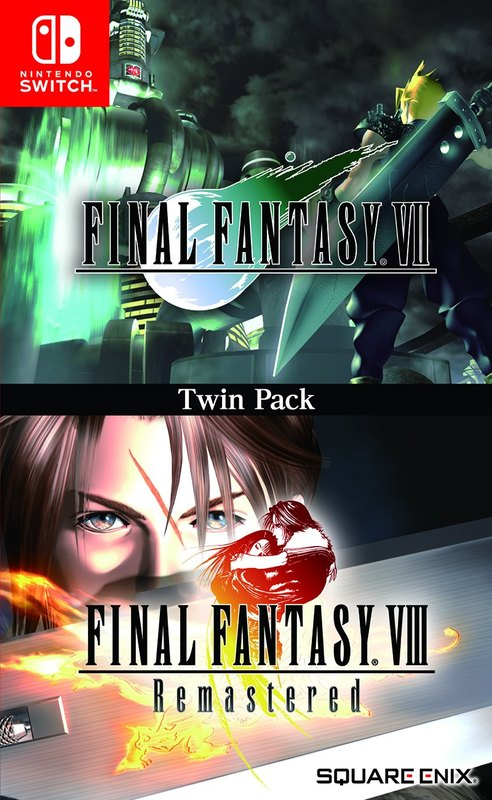 Final Fantasy VII & Final Fantasy VIII Remastered Twin Pack for Switch