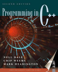Programming in C++ by Nell Dale image