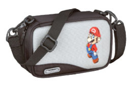 Mario Carry Case for Nintendo DS & GBA (Grey) for Nintendo DS