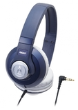 Audio-Technica ATH-500 DJ Headphones (Navy)