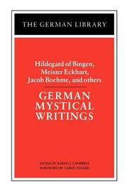 German Mystical Writings image